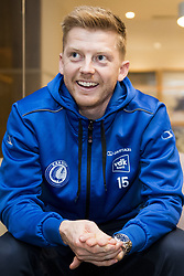 January 5, 2018 - Oliva, SPAIN - Gent's new player Anders Christiansen talks to the press on the first day of the winter training camp of Belgian first division soccer team KAA Gent, in Oliva, Spain, Friday 05 January 2018. BELGA PHOTO JASPER JACOBS (Credit Image: © Jasper Jacobs/Belga via ZUMA Press)