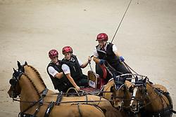 Maret Cyril, (SUI), Atalaya, Idylle du Christal, Nouba II, Ozora<br /> Concours Hippique International de Genève 2014<br /> © Hippo Foto - Dirk Caremans