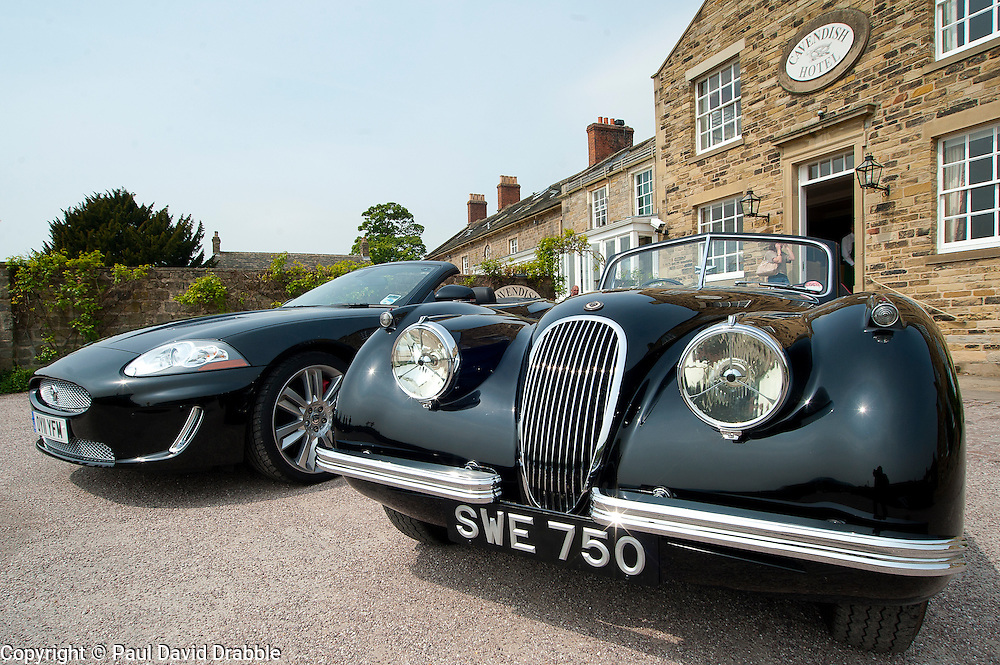 Hatfields Jaguar Ride and Drive event at the Cavendish Hotel Baslow Derbyshire..5th May 2011.Images © Paul David Drabble