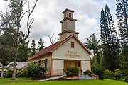 Puula Congregational Church, 1865, Pahoa, Island of Hawaii