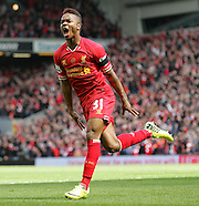 Liverpool v Manchester City 130414