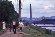 Riverside walk, Pyongyang