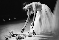 Diana Vinshneva in Act II of Giselle. Kirov Ballet, at the Mariinsky Theatre, St. Petersburg, Russia. Music: Adolphe Adam.