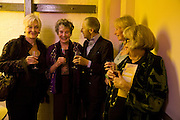 FAITH BROOK; SHEILA HANCOCK; MURRAY MELVIN; RITA DAVIES; KATE MUTTON; PAULA JACOBS. The Actors Centre's 30th Birthday Party. 1a Tower St, Covent Garden. London. 2nd November<br />