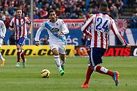 Deportivo de la Coruña´s Rodriguez during 2014-15 La Liga match between Atletico de Madrid and Deportivo de la Coruña at Vicente Calderon stadium in Madrid, Spain. November 30, 2014. (ALTERPHOTOS/Victor Blanco)