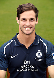 Middlesex's Hilton Carwright during the media day at Lord's Cricket Ground, London.