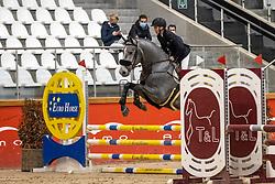 Van Roy Deborah, BEL, Daddy Cool Ter Linden Z<br /> Pavo Hengsten competitie - Oudsbergen 2021<br /> © Hippo Foto - Dirk Caremans<br />  22/02/2021