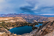 Daybreak at Twin Lakes on  Beartooth Pass All American Road south of Red Lodge Montana