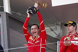 May 28, 2017 - Monte Carlo, Monaco - Motorsports: FIA Formula One World Championship 2017, Grand Prix of Monaco, .Riccardo Adami (ITA, Scuderia Ferrari), #7 Kimi Raikkonen (FIN, Scuderia Ferrari) (Credit Image: © Hoch Zwei via ZUMA Wire)