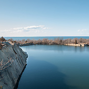 Granite quarry at Halibut Point, Rockport, MA