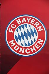 09.02.2020, Allianz Arena, Muenchen, GER, 1. FBL, FC Bayern Muenchen vs RB Leipzig, 21. Runde, im Bild Allianz Arena Bayern Logo // before the German Bundesliga 21th round match between FC Bayern Muenchen and RB Leipzig at the Allianz Arena in Muenchen, Germany on 2020/02/09. EXPA Pictures © 2020, PhotoCredit: EXPA/ SM<br /> <br /> *****ATTENTION - OUT of GER*****