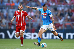 August 2, 2017 - Munich, Germany - Marek Hamsik of Napoli during the Audi Cup 2017 match between SSC Napoli v FC Bayern Muenchen at Allianz Arena on August 2, 2017 in Munich, Germany. (Credit Image: © Matteo Ciambelli/NurPhoto via ZUMA Press)