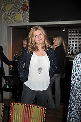 SUSANNAH CONSTANTINE at a dinner in aid of the Soil Association held at Bumpkin, 102 Old Brompton Road, London SW7 on 11th March 2009.