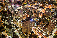 City Centre from Sydney Tower (Night)