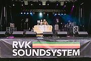 Photos of RVK Soundsystem performing live at Secret Solstice Music Festival 2014 in Reykjavík, Iceland. June 21, 2014. Copyright © 2014 Matthew Eisman. All Rights Reserved