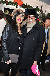 FODOUA BIKDIR and ALEXANDER BARANI at the launch party for the Vicomte A boutique in London at 113 King's Road, London SW3 on 13th December 2012.