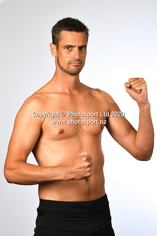 Cameron Holm.<br /> Boxing fighter portraits at Northcote Tavern, Auckland on Thursday 15th October 2020 ahead of the Shane Cameron Counterpunch Fight Night to be held on the 16th October 2020.<br /> Copyright photo: Andrew Cornaga / www.photosport.nz