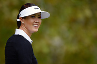 Michelle Wie (Usa) competes during the practice round of LPGA Evian Championship 2014, day 2, at Evian Resort Golf Club, in Evian-Les-Bains, France, on September 9, 2014. Photo Philippe Millereau / KMSP / DPPI