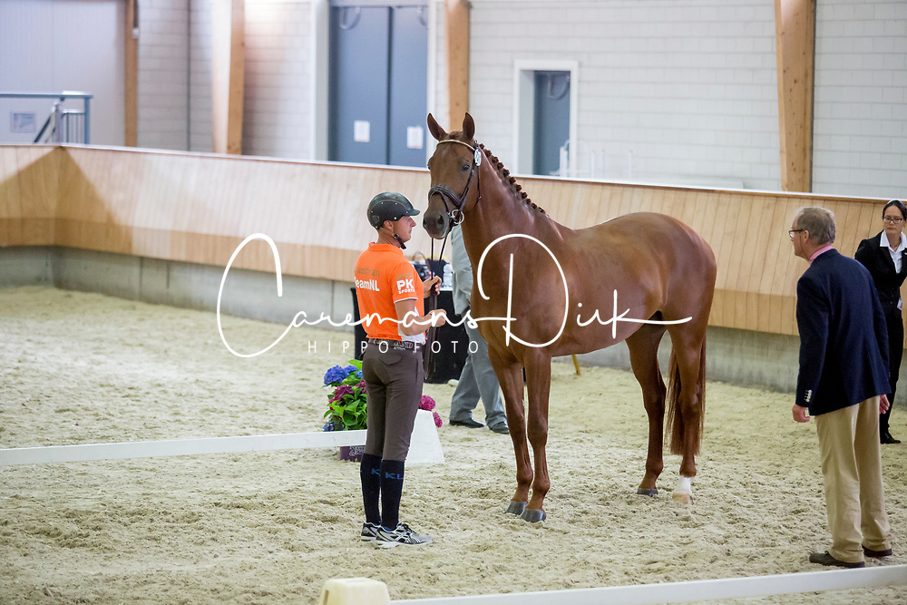 Van Der Meer Patrick, NED, Presidents First Apple<br /> Longines FEI/WBFSH World Breeding Dressage Championships for Young Horses - Ermelo 2017<br /> © Hippo Foto - Dirk Caremans<br /> 02/08/2017