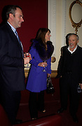 William Cash, Elizabeth Hurley and Dennis Hopper, Grand Classics Screening of 'Out of the Blue' hosted by Dennis Hopper. Electric cinema, Portobello Rd. London. 15 November 2004. ONE TIME USE ONLY - DO NOT ARCHIVE  © Copyright Photograph by Dafydd Jones 66 Stockwell Park Rd. London SW9 0DA Tel 020 7733 0108 www.dafjones.com