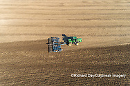 63801-11805 Tilling field after soybean harvest-aerial Marion Co.  IL