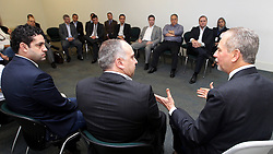 José Fortunati durante café da manhã com empresários para para falar sobre Mobilidade Urbana. FOTO: Jefferson Bernardes/Preview.com