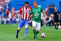 Gaizka Mendieta during the last match to be played by Atletico de Madrid at Vicente Calderon Stadium in Madrid, May 28, 2017. Spain.. (ALTERPHOTOS/Rodrigo Jimenez)