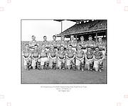 Neg No:.573/7856-7864...15081954AISFCSF...15.08.1954, 08.15.1954, 15th August 1954...All Ireland Senior Football Championship - Semi-Final..Kerry.2-6.Galway.1-6..Kerry Team.G. O'Mahony, J. M. Palmer, E. Roche, D. Murphy, Sean Murphy, J. Cronin, C. Kennelly, John Dowling (Captain), T. Moriarty, R. Buckley, J. J. Sheehan, P. Sheehy, J. Brosnan, S. Kelly, T. Lyne. .John Dowling (Captain).