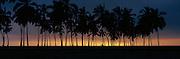 Sunset, Puuhonua O Honaunau, Island of Hawaii<br />