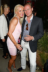 SEBASTIAN & CLARE VAN DAM at the Carrera Ignition Night at The House of St.Barnabas, Soho, London on 20th June 2013.