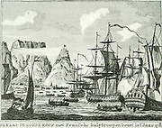 During the Anglo-Dutch war of 1780-1784 England intended taking possession of the Cape.  Pierre Andre de Suffren St Tropez was send with a powerful fleet to protect the Cape. Off Porto Praya he fought the British fleet under command of Commodore Johnstone.  He then hurried to Cape Town which was prepared for defence before Johnstone's arrival.