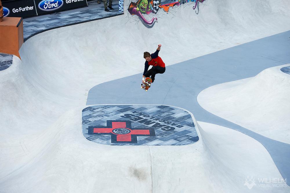 Ben Hatchell during Men's Skate Park Eliminations at the 2013 X Games Barcelona in Barcelona, Spain. ©Brett Wilhelm/ESPN