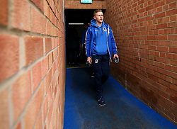 Luke Russe of Bristol Rovers arrives at The ABAX Stadium, for the Sky Bet League One fixture against Peterborough United - Mandatory by-line: Robbie Stephenson/JMP - 24/03/2018 - FOOTBALL - ABAX Stadium - Peterborough, England - Peterborough United v Bristol Rovers - Sky Bet League One