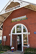 Old train station in the historic district of Fernandina Beach, Florida