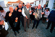 PORTUGAL, EAST CENTRAL Marvao; hilltown 'Chestnut Festival'