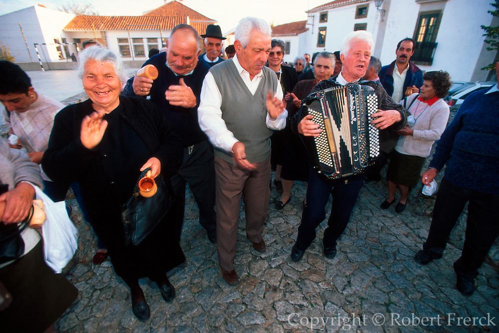 PORTUGAL, EAST CENTRAL Marvao; hilltown 'Chestnut Festival'