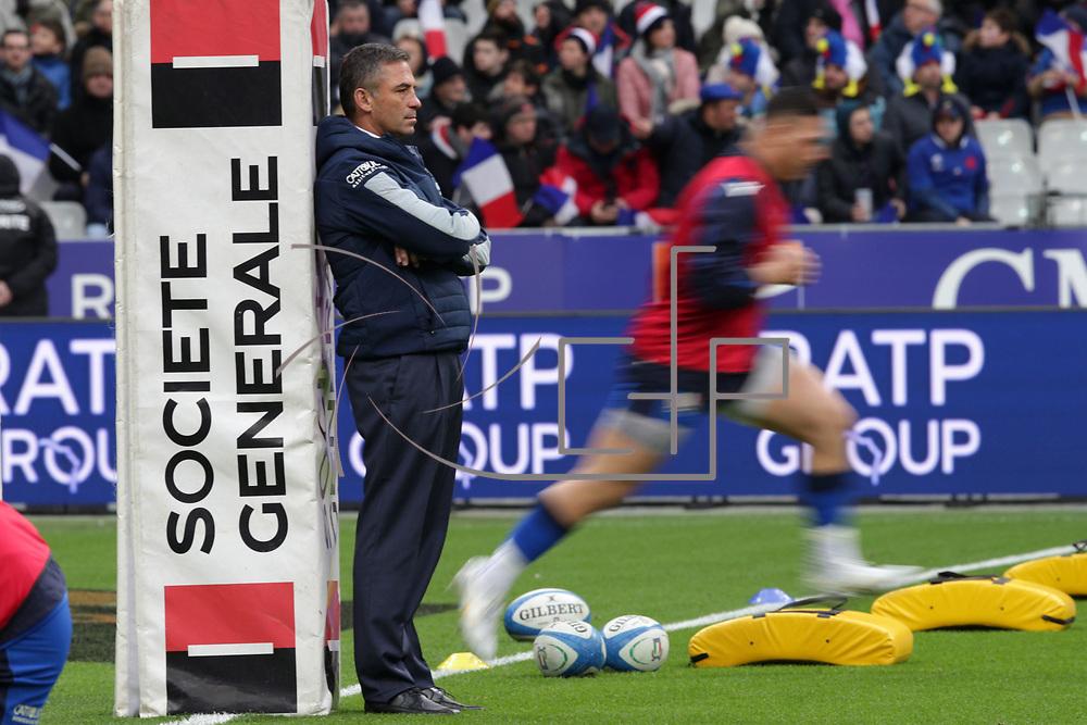 Parigi 09/02/2020 Stade de France<br /> Guinness 6 nations 2020 : Francia vs Italia <br /> Franco Smith
