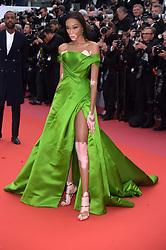 "71st Cannes Film Festival 2018, Red Carpet film ""Blackkklansman"". Pictured: Winnie Harlow"