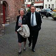 Matthaus Passion 2000 Naarden, minister Klaas de Vries met zijn vrouw Rijna Stapper