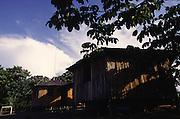 Amazonas, Brasil.<br /> <br /> Alojamento da Reserva Biologica de Uatuma, Amazonas.<br /> <br /> Accommodation of the Uatuma Biological Reserve Amazonas.<br /> <br /> Foto: JOAO MARCOS ROSA / NITRO