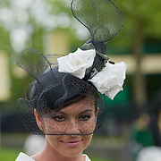 ASCOT, ENGLAND - JUNE 18:  Hats of different shapes, colours and style on display for Lady's Day Royal Ascot 2009  at Ascot Racecourse on June 18, 2009 in Ascot, England.  (Photo by Marco Secchi/Getty Images)