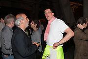 ALAN YENTOB; ANTONY GORMLEY, The Tanks at Tate Modern, opening. Tate Modern, Bankside, London, 16 July 2012
