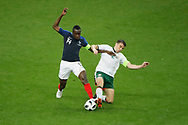 Blaise MATUIDI (FRA), Seamus Coleman (IRL) during the FIFA Friendly Game football match between France and Republic of Ireland on May 28, 2018 at Stade de France in Saint-Denis near Paris, France - Photo Stephane Allaman / ProSportsImages / DPPI