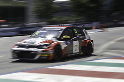 June 23, 2018 - Vila Real, Vila Real, Portugal - Mehdi Bennani from Morrocco in Volkswagen Golf GTI TCR of Sebastien Loeb Racing in action during the Race 1 of FIA WTCR 2018 World Touring Car Cup Race of Portugal, Vila Real, June 23, 2018. (Credit Image: © Dpi/NurPhoto via ZUMA Press)