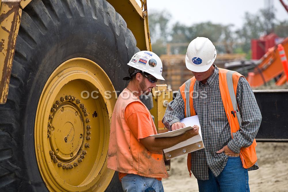 Construction Supervisor Discusses Plans