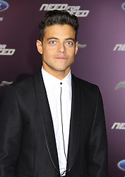 March 6, 2014 - Los Angeles, Californie, USA - Rami Malek at the film premiere of Dreamworks Pictures' 'Need For Speed', at TCL Chinese Theatre,  Hollywood, California, USA. (Credit Image: © Panoramic/ZUMAPRESS.com)