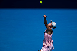 January 20, 2019 - Melbourne, VIC, U.S. - MELBOURNE, VIC - JANUARY 20: ASHLEIGH BARTY (AUS) (AUS) during day seven match of the 2019 Australian Open on January 20, 2019 at Melbourne Park Tennis Centre Melbourne, Australia (Photo by Chaz Niell/Icon Sportswire) (Credit Image: © Chaz Niell/Icon SMI via ZUMA Press)