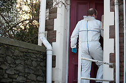 licensed to London News Pictures. 05/05/2011. Vincent Tabak who is charged with the murder of Jo Yeates whose body was found near Bristol on Christmas Day has admitted manslaughter but denied murder. FILE PICTURE DATED. 20/01/2011 Police forensics search a house on Aberdeen Road in Bristol. A 32 year old man has been arrested on suspicion of the murder of Jo Yeates, a 25 year old landscape architect from Bristol. Picture credit should read: David Hedges/LNP