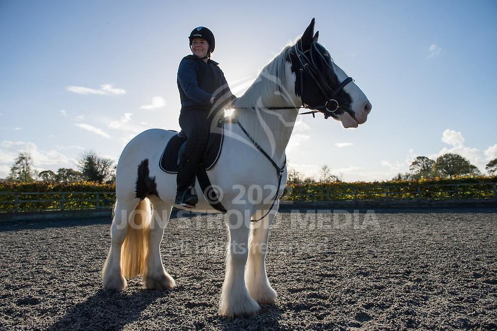 Karen Whiston training - Langford, Somerset, United Kingdom - 12 November 2014