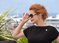 Dolores Fonzi at the The Summit (La Cordillera) film photo call at the 70th Cannes Film Festival Wednesday 24th May 2017, Cannes, France. Photo credit: Doreen Kennedy